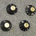 Witch Hat Knobs for Les Paul Custom