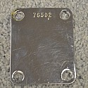 1962 Neck Plate