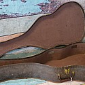 Late 40's Early 50's Foux Gator Soft Shell Case