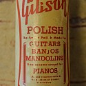 Vintage Gibson Instrument Polish Bottle