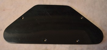Vintage Original 1961 Backplate for Les Paul or SG - ID: 2682
