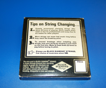 1966 Black Diamond Copper Wound Strings