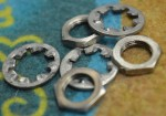 1957-1959 Fender Lock Washers and Nuts  -  Cat No:   -  Click To Order  -  ID: 2587