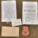 1959-1960 Original Gibson Hang Tag Set  -  Cat No:   -  Click To Order  -  ID: 2594