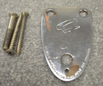 1970's Fender Neck Plate With Screws  -  Cat No:   -  Click To Order  -  ID: 2850