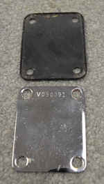 Vintage Reissue Post 1982 Fender Neck Plate Jazz / P.Bass  -  Cat No:   -  Click To Order  -  ID: 2854