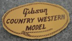 1956 Gibson Country Western Label  -  Cat No:   -  Click To Order  -  ID: 2825