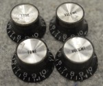 1982 Gibson Volume and Tone Control Knobs  -  Cat No:   -  Click To Order  -  ID: 2812