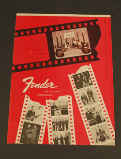Original 1963 Fender Catalog  -  Cat No:   -  Click To Order  -  ID: 727