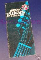 1970 Gibson 12 STRING BROCHURE  -  Cat No:   -  Click To Order  -  ID: 511