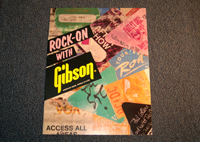 Rock-On with Gibson Advertisement  -  Cat No:   -  Click To Order  -  ID: 1741
