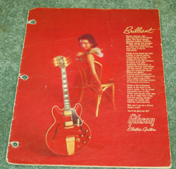 1963 Gibson Full Line Catalog  -  Cat No:   -  Click To Order  -  ID: 610