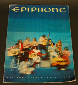 1964 Epiphone Catalog  -  Cat No:   -  Click To Order  -  ID: 838