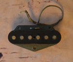 Vintage Original Mid-Late 1960s Telecaster Bridge Pickup  -  Cat No:   -  Click To Order  -  ID: 2677