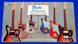 '64 Manual for Jazzmaster  -  Cat No:   -  Click To Order  -  ID: 955
