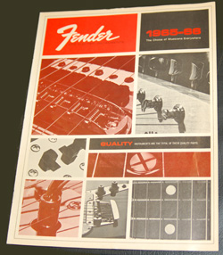 65-66 Fender Catalog  -  Cat No:   -  Click To Order  -  ID: 844