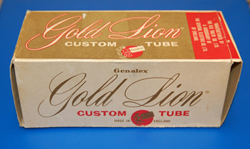 Gold Lion Tube Box  -  Cat No:   -  Click To Order  -  ID: 1001