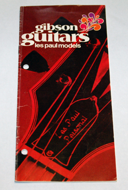 '70 Les Paul Brochure  -  Cat No:   -  Click To Order  -  ID: 945
