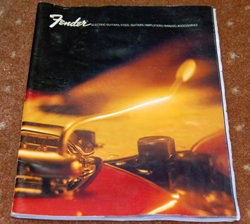 70's Fender Catalog  -  Cat No:   -  Click To Order  -  ID: 962