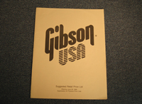 Gibson Suggested Retail Price List  -  Cat No:   -  Click To Order  -  ID: 1746
