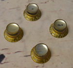1962-1970 Silver Reflector Knobs  -  Cat No:   -  Click To Order  -  ID: 2508