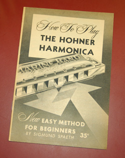 1959 Hohner Harmonica how-to book  -  Cat No:   -  Click To Order  -  ID: 760
