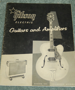 Original March 1959 Gibson Catalog  -  Cat No:   -  Click To Order  -  ID: 614