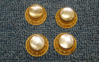 1965 Gibson Bonnet Knobs  -  Cat No:   -  Click To Order  -  ID: 1526