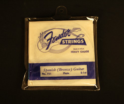 1959 Fender Spanish Guitar Strings  -  Cat No:   -  Click To Order  -  ID: 632