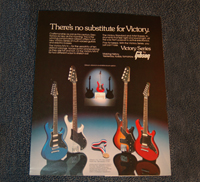 Victory Series Gibson Advertisement  -  Cat No:   -  Click To Order  -  ID: 1740