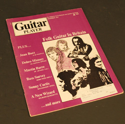 Dec. 1971 Guitar Player Magazine  -  Cat No:   -  Click To Order  -  ID: 762