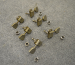 Double Line Nickel Tulip Button Tuning Machines  -  Cat No:   -  Click To Order  -  ID: 2742