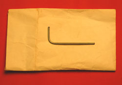 Gibson Les Paul Jr. Special Tailpiece Allen Wrench  -  Cat No:   -  Click To Order  -  ID: 1254