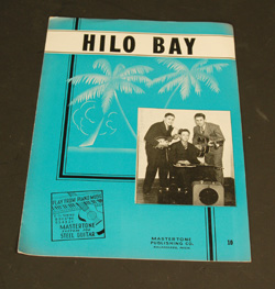 1939 Hilo Bay Sheet Music  -  Cat No:   -  Click To Order  -  ID: 763