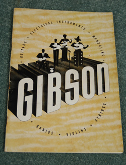 1940 Original Gibson Catalog  -  Cat No:   -  Click To Order  -  ID: 611
